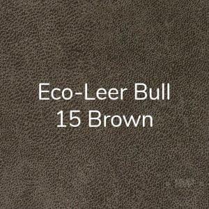 Eco-leer Bull 15 Brown