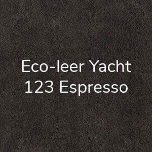 Leer Yacht Espresso 123