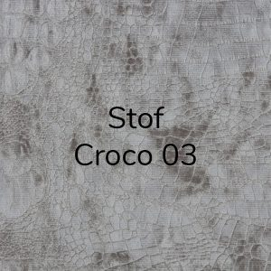 Stof Diva Croco 03