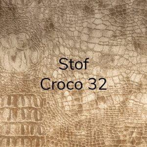 Stof Diva Croco 32