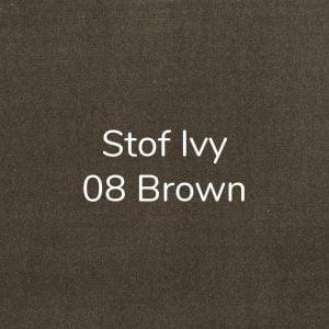 Stof Ivy 08 Brown
