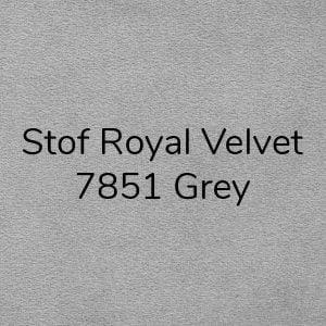 Stof Royal Velvet 7851 Grey