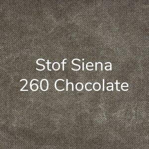 Stof Siena 260 Chocolate