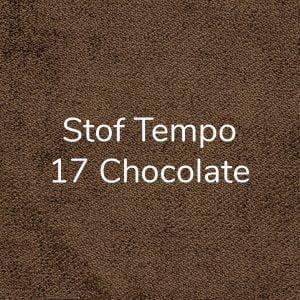 Stof Tempo 17 Chocolate