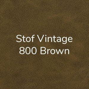 Stof Vintage 800 Brown
