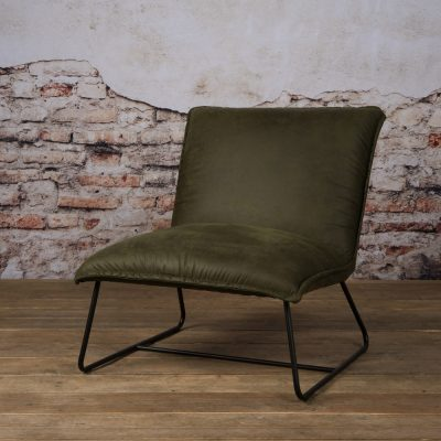 Tower Living Fauteuil 'Vilar' - groen