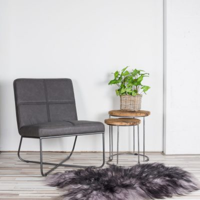 Zitzz - Fauteuil Lee - Preston Antraciet