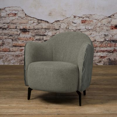 Tower Living - Fauteuil Bondo - Grande 90 grey