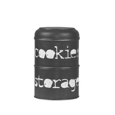 Opbergblik Cookies Zwart