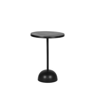LABEL51 - Bijzettafel Spark - Zwart Metaal - 40x40x57 cm