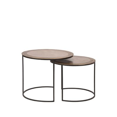 LABEL51 - Salontafel Set Circle 55 cm