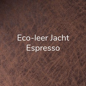 Eco-leer Jacht Espresso