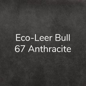 Eco-leer Bull 67 Anthracite