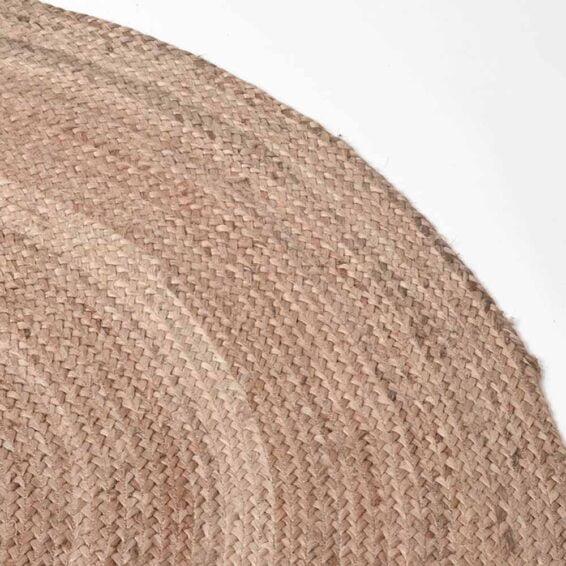 LABEL51 - Vloerkleed Jute Naturel 120 cm Detail